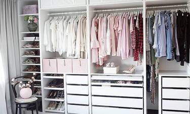 Εμπνεύσου από τις πιο οργανωμένες ντουλάπες στο Instagram για να τακτοποιήσεις και τη δική σου