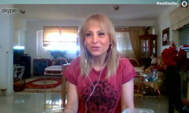 H Τέτα Καμπουρέλη μάς δείχνει από το σπίτι της πώς να κάνουμε μόνες μας χαλάουα για αποτρίχωση