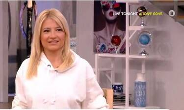 Φαίη Σκορδά: Αποκάλυψε το πρόβλημα υγείας της on air: «Δεν ήθελα να το πω…» (Videos & Photos)