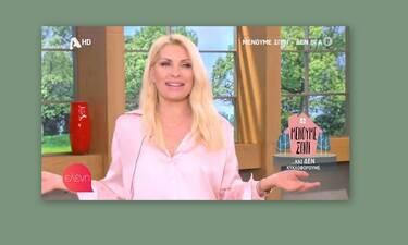 Ελένη Μενεγάκη: Θυμάστε πόσα κιλά ζύγιζε; Ξεχάστε το! Της έπεφτε το παντελόνι και δείτε τι αποκάλυψε
