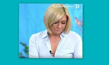 Στη φωλιά των Κου Κου: Λύγισε η Καραβάτου στον αέρα της εκπομπής - Τι συνέβη; (Video)