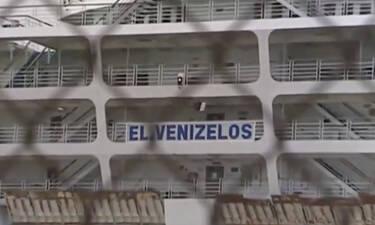 Βίντεο-σοκ από το «μολυσμένο πλοίο»: Γιατρός τρέχει με οξυγόνο στα χέρια