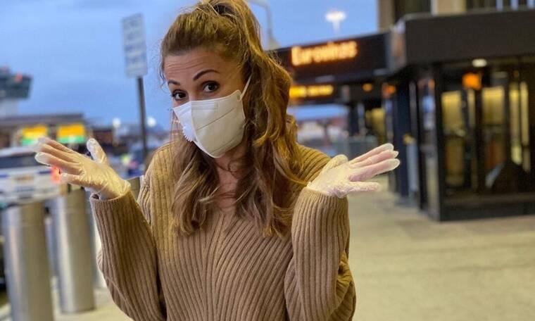 Στέλλα Καλλή: Επιστρέφει από Νέα Υόρκη και οι φωτό από το αεροδρόμιο σοκάρουν (Photos)