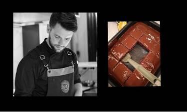 MasterChef: Ο Τιμολέων Διαμαντής μας έδωσε τη συνταγή του για νηστίσιμη σοκολατόπιτα! Δοκίμασέ την!