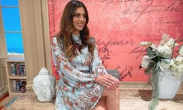 Σταματίνα Τσιμτσιλή: Δείτε τι συμβαίνει στο σαλόνι της παρουσιάστριας - Ένας χαμός! (Photos)