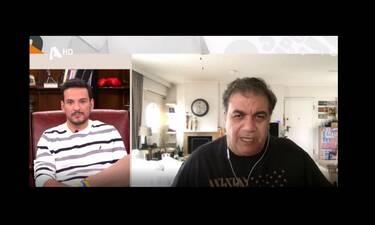 Δημήτρης Σταρόβας: Πήρε θέση στην κόντρα Αρναούτογλου - Κανάκη! Όλα όσα είπε στην Γερμανού (Video)