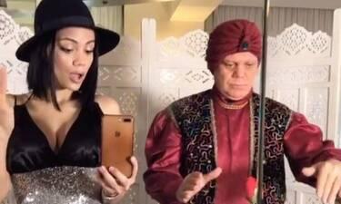 Γέλιο μέχρι δακρύων! Η Άννα Αμανατίδου χορεύει με τον μπαμπά της στο Tik Tok και… αλλάζουν ρούχα!