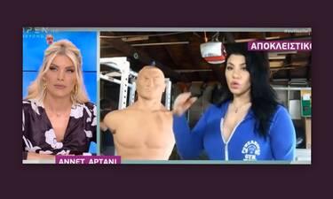 Με συμπτώματα κορονοϊού η Ανέτ Αρτάνι στη Νέα Υόρκη (Video)