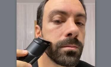 Ο Τανιμανίδης μετά από 10 χρόνια έβαλε ξυράφι στο πρόσωπό του και είναι αγνώριστος (Vid – Pics)