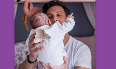 Ο Σάββας Πούμπουρας νανουρίζει την κόρη του κι είναι ό, τι πιο γλυκό έχουμε δει (photos-video)