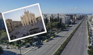 O Πλανήτης σε καραντίνα – Εικόνες από την Αθήνα και τον κόσμο εν μέσω κορονοϊού (photos)