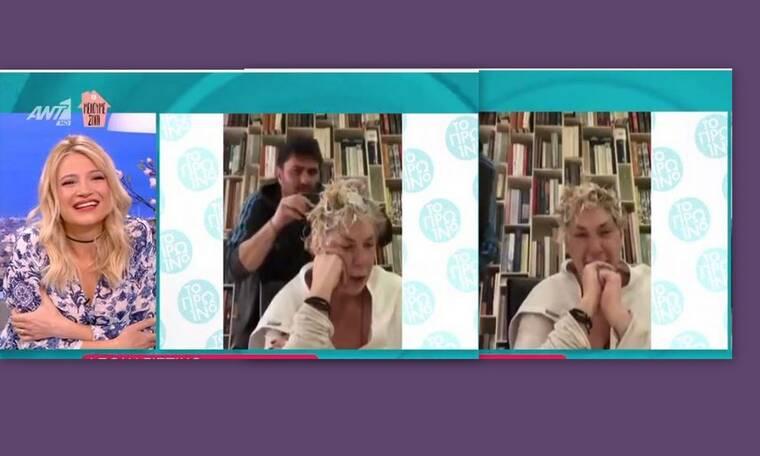 Δήμητρα Λιάνη Παπανδρέου: Φίλος της βάφει τα μαλλιά σε χρόνο ρεκόρ και βάζει τα κλάματα! Τι συνέβη;