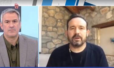 Κώστας Μακεδόνας: Τα λόγια αισιοδοξίας και το θετικό του μήνυμα για τον κορονοϊό (Video)