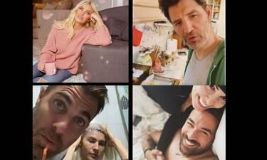 Ερωτευμένοι οι Έλληνες επώνυμοι στην καραντίνα! (Photos)