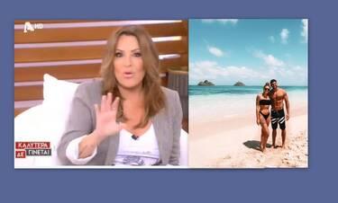 Ναταλία Γερμανού: Έστειλε μήνυμα on air στον Βασάλο: «Αν δεν κάνεις πρόταση γάμου στη Βαλαβάνη...»