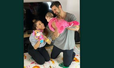 Χατζίδου - Παύλου: Δείτε πώς περνάνε στο σπίτι μετά την περιπέτεια υγείας της κόρης τους!