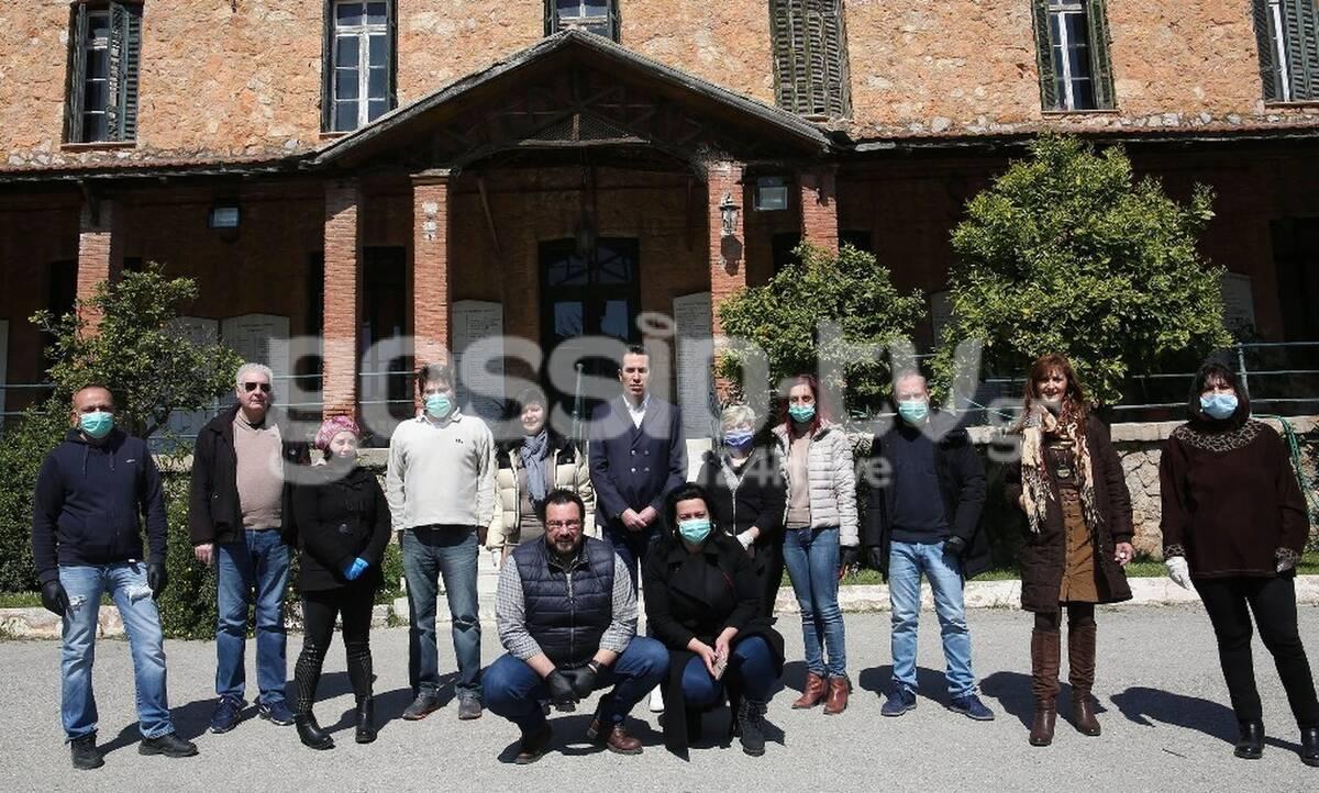 Πράξη ανθρωπιάς των celebrities για το Γηροκομείο Αθηνών (photos)