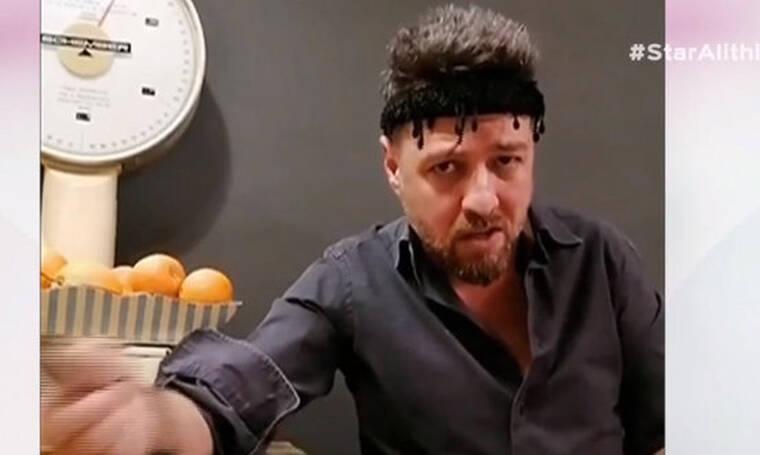 Ο Μάνος Παπαγιάννης δίνει συμβουλές για κορονοϊό στα… Κρητικά και γίνεται viral! (video)