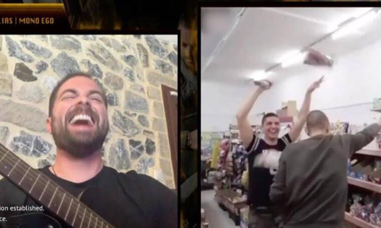 Ηλίας Βρεττός: Αιφνιδίασε μέσω chat τους θαυμαστές του και τους έκανε video clip!