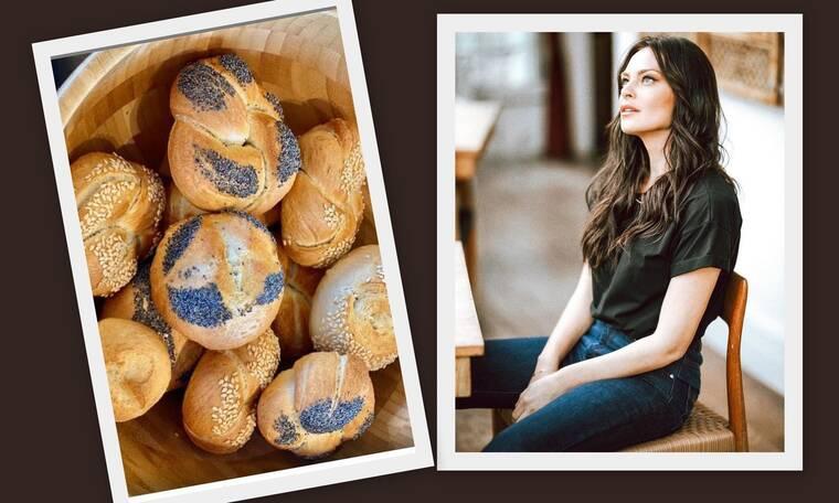 Υβόννη Μπόσνιακ: Η συνταγή της για το τραπέζι της Κυριακής του Πάσχα! Μυρωδάτο και αφράτο ψωμί!