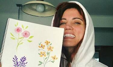 Μαίρη Συνατσάκη: Έβαψε μόνη το σπίτι της και το αποτέλεσμα θα σε ενθουσιάσει! Είναι εκπληκτικό!