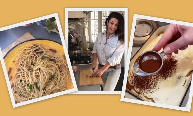 Δωροθέα Μερκούρη: Οι αυθεντικές Ιταλικές συνταγές για πίτσα, καρμπονάρα και τιραμισού δια χειρός της