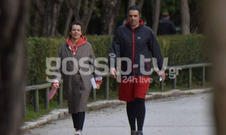 Νικολέτα Ράλλη: Για άσκηση και περπάτημα με τον σύντροφό της (Photos)