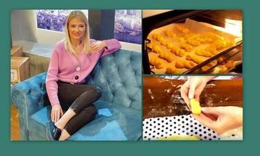 Φαίη Σκορδά: Έφτιαξε πασχαλινά κουλουράκια με τους γιους της - Δες τη συνταγή! (Pics-Vid)
