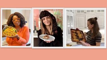 Τύφλα να 'χουν τα γκουρμέ εστιατόρια! Τα απίθανα πιάτα των celebrities στην καραντίνα