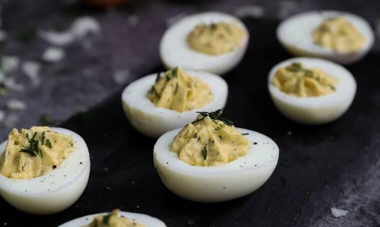 Γεμιστά αυγά