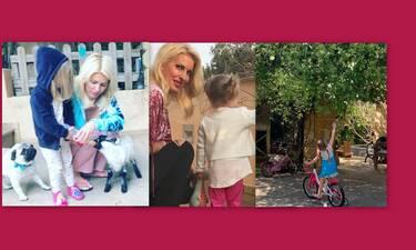 Ελένη Μενεγάκη: Όλες οι φορές που μας έδειξε τη Μαρίνα της και έριξε το Instagram! (Photos)