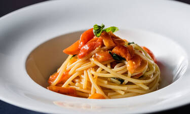 Ο Giorgio Armani μοιράζεται την αγαπημένη του συνταγή