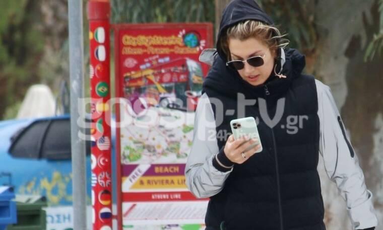 Κωνσταντίνα Σπυροπούλου: Φόρεσε το κολάν της και το 'ριξε στο περπάτημα