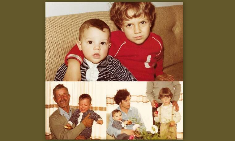 Το αγοράκι της φωτογραφίας είναι σήμερα πασίγνωστος ηθοποιός και μας συστήνει την οικογένειά του!