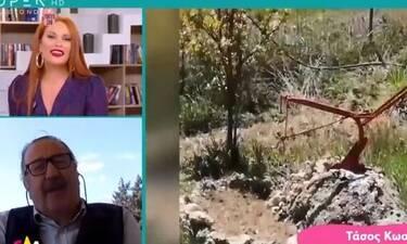 Έλα χαμογέλα: Τάσος Κωστής: «Ζω έναν δεύτερο μήνα του μέλιτος» (Video)