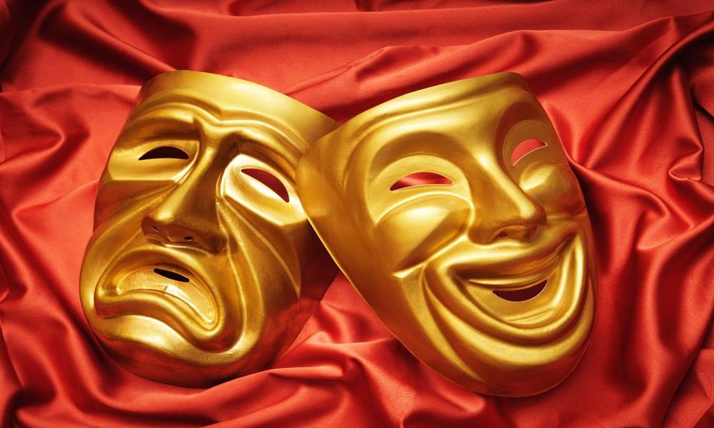 театральные маски фото гифки много слышали этих
