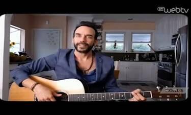 Το τραγούδι-αφιέρωση του Πάνου Μουζουράκη στην «Κιβωτό του Κόσμου» για τον κορονοϊό (video)