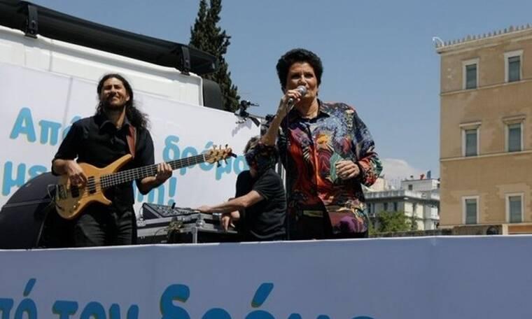 Άλκηστις Πρωτοψάλτη: Την έκραξαν για την κινούμενη συναυλία και δίνει τη σκληρή απάντησή της! (Pics)