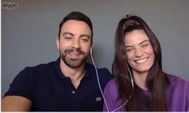 Μαζί σου: Σάκης Τανιμανίδης και Χριστίνα Μπόμπα, εθελοντές για την καταπολέμηση του κορονοϊού! (Vid)