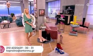 Φαίη Σκορδά: Αυτό δεν έχει ξαναγίνει! Κορίτσια δίνει τα παπούτσια της!