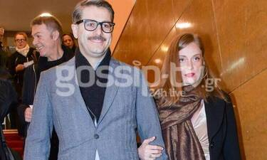 Λένα Δροσάκη: Βγήκε βόλτα με τον Αλέξανδρο Μπουρδούμη και είδαμε τη φουσκωμένη της κοιλίτσα! (Pics)