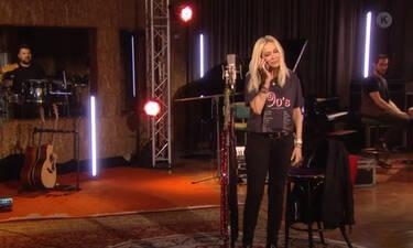Mega: Mένουμε στο σπίτι με την Άννα Βίσση και τα τραγούδια της