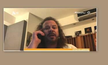 Χρήστος Δάντης: Αυτή είναι η απάντηση του μετά τις αντιδράσεις για το τραγούδι «Δεν υπάρχει Θεός»