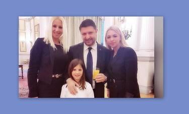 Νίκος Χαρδαλιάς: H σπάνια εξομολόγηση on camera για τη σύζυγο και τις κόρες του (Video)