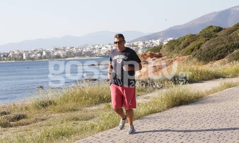 Γιώργος Λιάγκας: Αδυνάτισε επειδή πάει για τρέξιμο και ιδού οι αποδείξεις! (Photos)