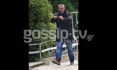 Μάριος Αθανασίου: Βγήκε βόλτα αλλά μάλλον είχε τα... νεύρα του! (Photos)