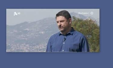 Νίκος Χαρδαλιάς: Η στιγμή που λυγίζει on camera – Τι συνέβη; (Videos)