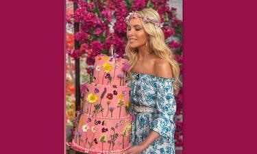 Γενέθλια για την Καινούργιου! H τούρτα υπερπαραγωγή και το υπονοούμενο για το τηλεοπτικό μέλλον της
