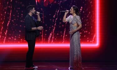 J2US: Χριστίνα Βραχάλη - Γιώργος Λιβάνης: Η συγκίνηση της αθλητικογράφου on stage! Τι συνέβη (video)