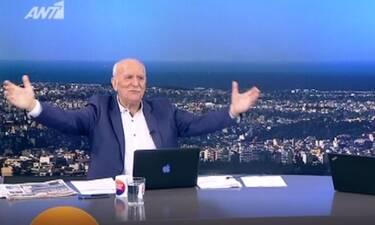 Καλημέρα Ελλάδα: Ο Γιώργος Παπαδάκης επέστρεψε στο πλατό μετά από 42 ημέρες (Video)